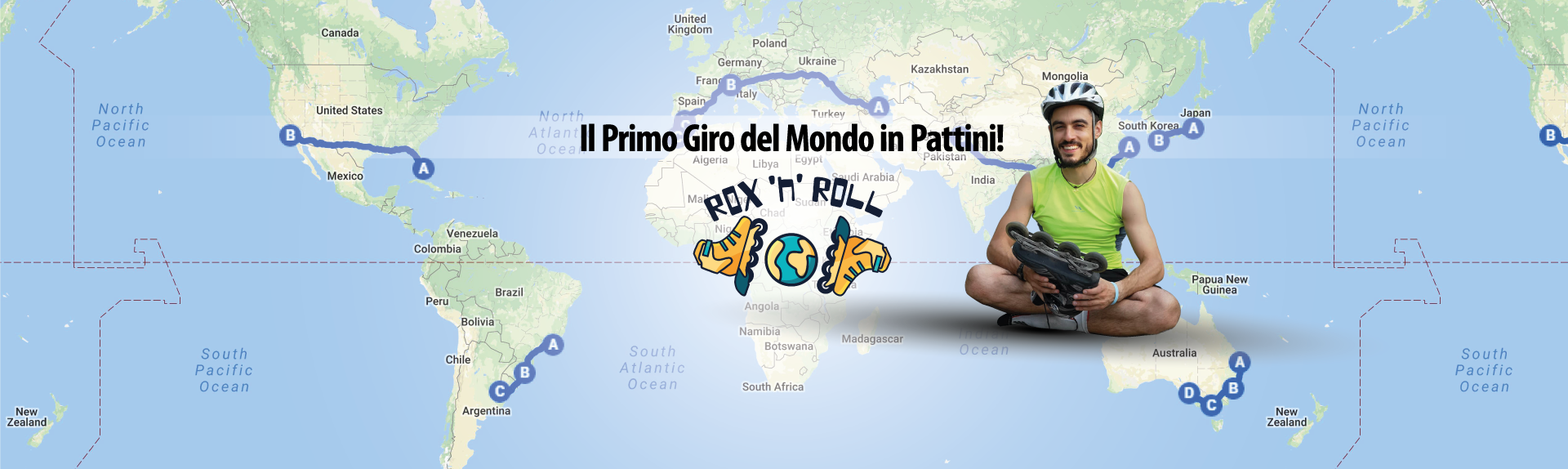 #roxbax il primo giro del mondo in pattini